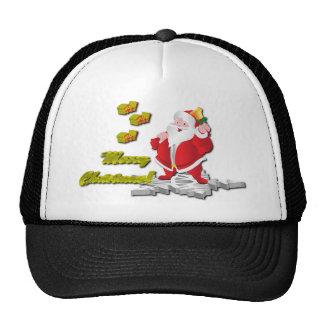 Ho! Ho! Ho! Merry Christmas Trucker Hat