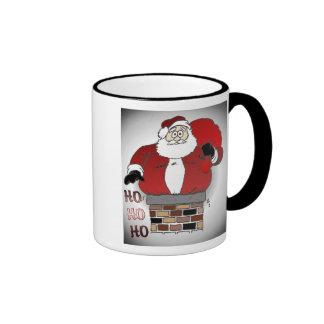 Ho Ho Ho Ringer Coffee Mug