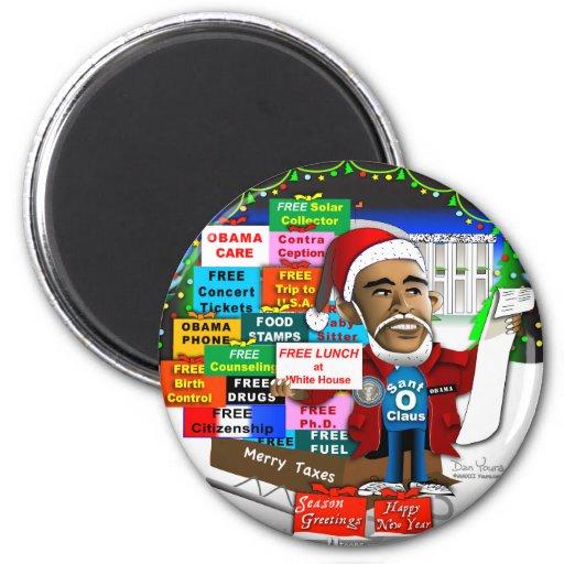 Ho Ho Ho Obama Iman De Frigorífico