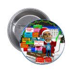 Ho Ho Ho Obama Pins