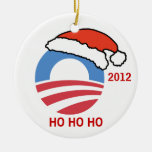 Ho Ho Ho ornamento de Obama Adorno