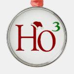 Ho Ho Ho ornamento del navidad Ornamentos De Navidad