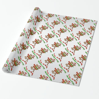 Ho Ho Ho papel de embalaje del camello del navidad Papel De Regalo