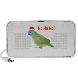 Ho Ho Ho parrot iPod Speakers