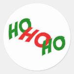 Ho Ho Ho pegatina