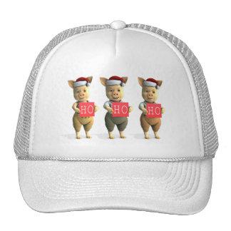 Ho Ho Ho Piglets Trucker Hat