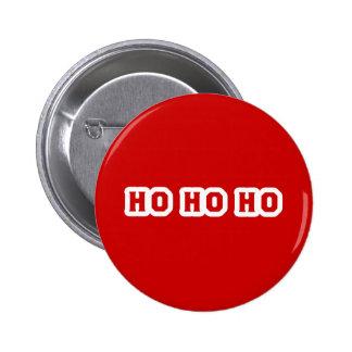 Ho Ho Ho Pin Redondo 5 Cm