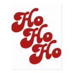 Ho Ho Ho Post Card