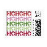 Ho Ho Ho. Postage Stamps