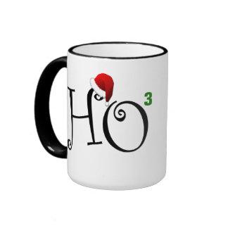 Ho Ho Ho! Ringer Coffee Mug