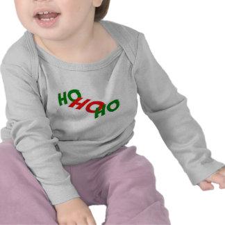 Ho Ho Ho ropa del bebé Camiseta