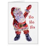 Ho Ho Ho Santa Card
