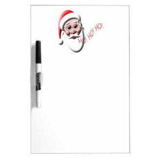 Ho!Ho!Ho! Santa Christmas Dry Erase Board