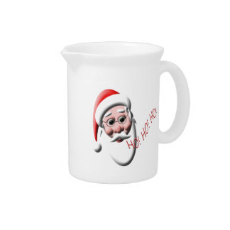 Ho!Ho!Ho! Santa Claus Christmas Pitcher
