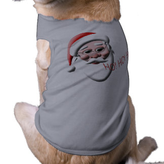 Ho!Ho!Ho! Santa Claus Holiday Dog T-Shirt