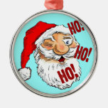 Ho Ho Ho Santa Claus Ornaments