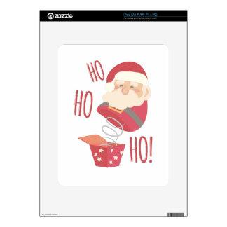 Ho Ho Ho Santa Decal For The iPad