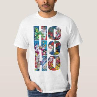 HO HO HO SANTA MUSICAL CHRISTMAS NIGHT T-Shirt