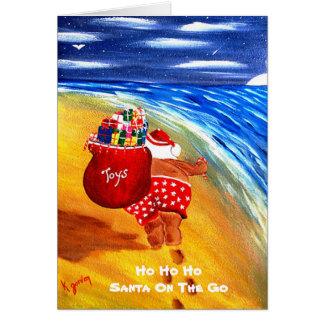 HO HO HO....SANTA ON THE GO......... CARD