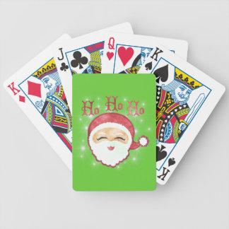 HO HO HO SANTA Playing Cards