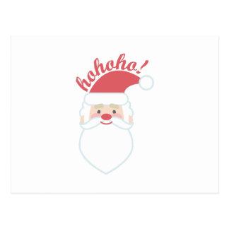 Ho Ho Ho Santa Postcard