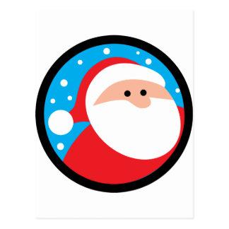Ho Ho Ho! Santa Postcard