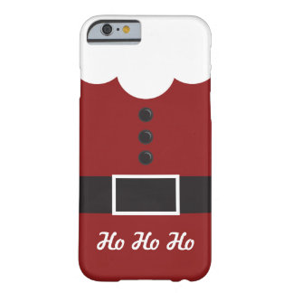 Ho Ho Ho  Santa Suit Christmas iPhone 6 case