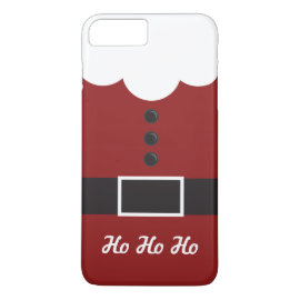 Ho Ho Ho Santa Suit Christmas iPhone 7 Plus case