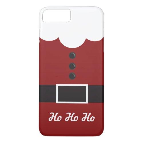 Ho Ho Ho Santa Suit Christmas iPhone 7 Plus case