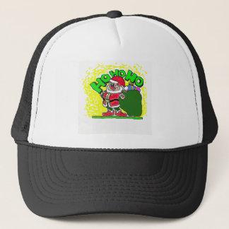 HO HO HO Santa Trucker Hat
