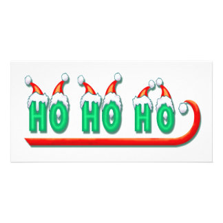 HO HO HO SLED by SHARON SHARPE Card