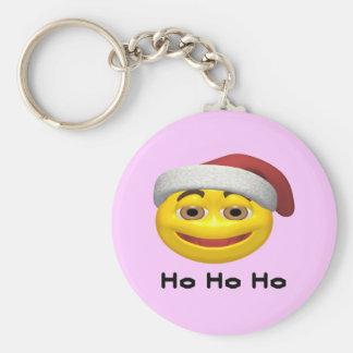 Ho Ho Ho - SmileySanta Keychain