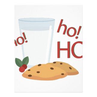 Ho Ho Ho Snack Letterhead