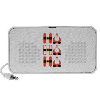 Ho Ho Ho iPod Speakers