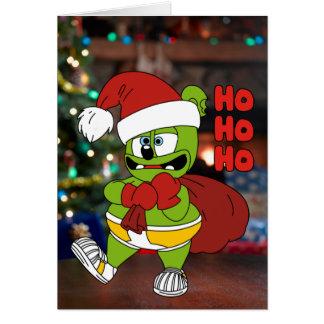 Ho Ho Ho tarjeta de Navidad de Gummibär