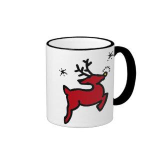 HO HO HO tazas del navidad