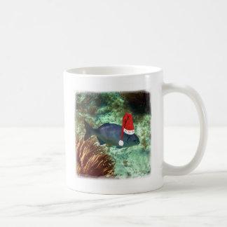 Ho Ho Ho Tropical Fish Classic White Coffee Mug