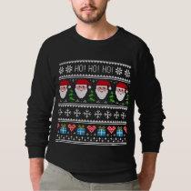 Ho! Ho! Ho! Ugly Christmas Sweater Hoodies, T-shir