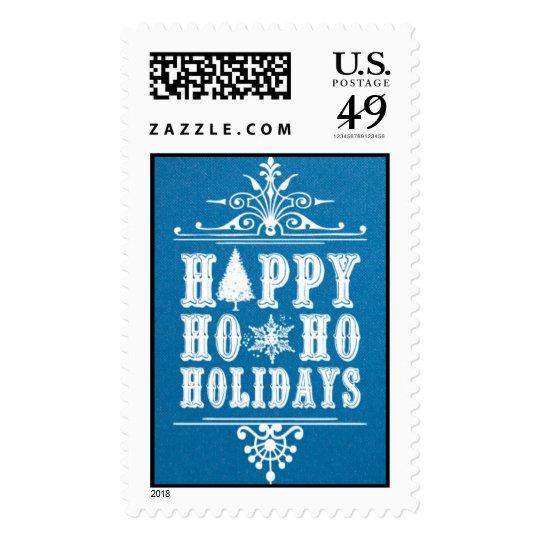 Ho Ho Holidays - Peacock Postage