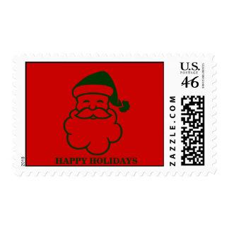 Ho Ho  Holidays Stamp