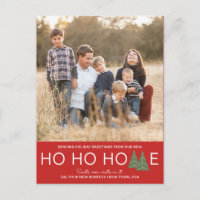Ho Ho Home Holiday Moving Announcement