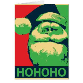 Ho Ho Hope Card