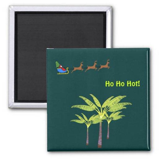 Ho Ho Hot Santa Magnet