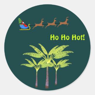 Ho Ho Hot Santa Sticker