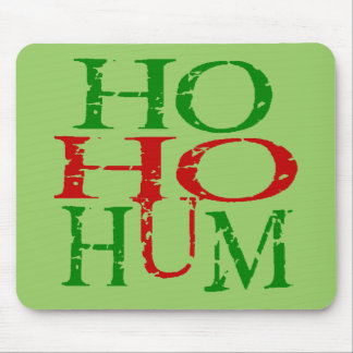 Ho ho hum mouse pad