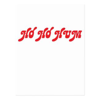 Ho Ho Hum Postcard