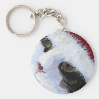 Ho Ho Kitty Cat Keychain