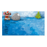 ho ho merry christmas mouse Double-Sided standard business cards (Pack of 100)