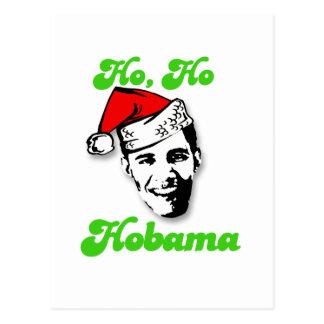 Ho, Ho, Obama Postcard