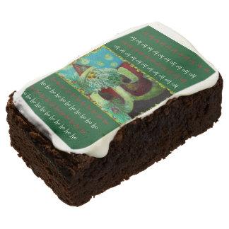 Ho Ho Santa Brownie